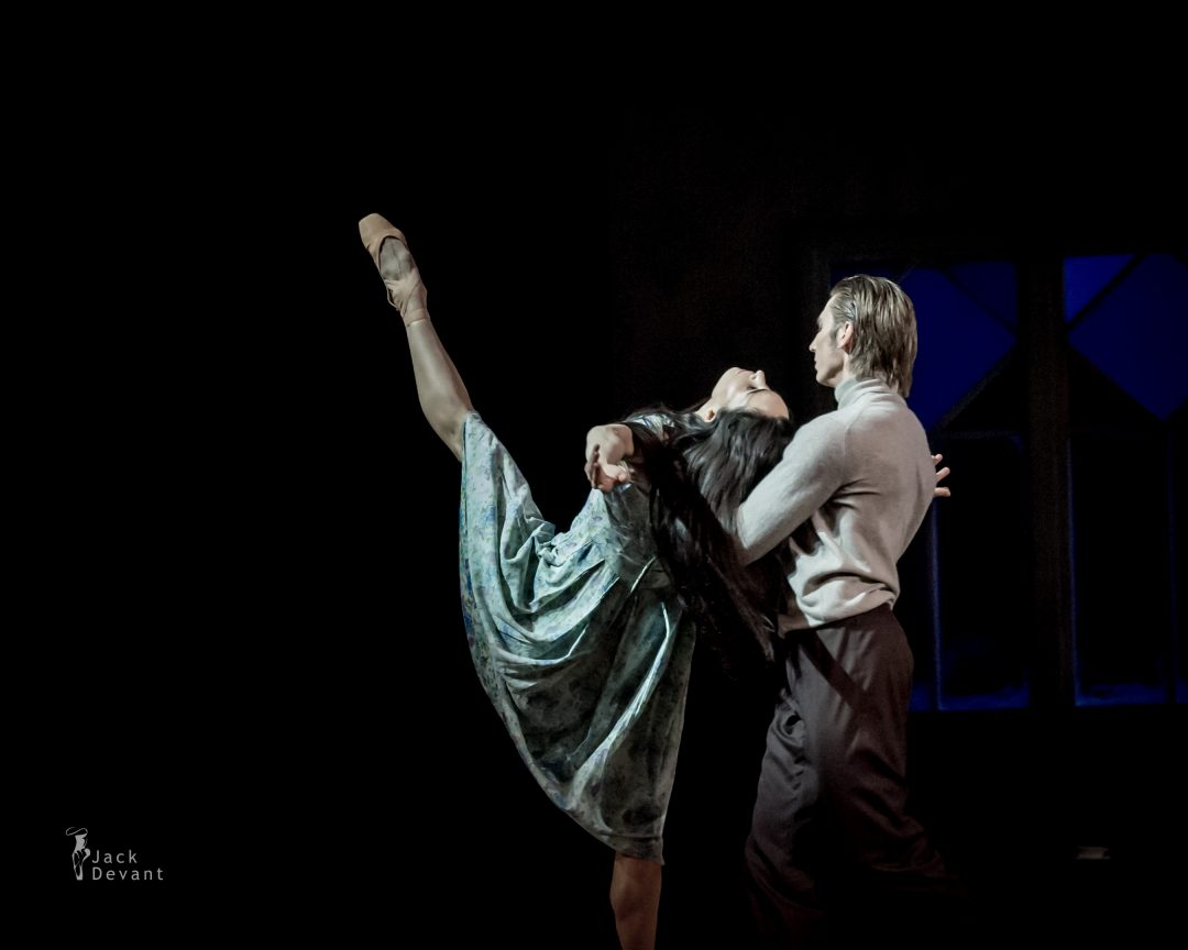 Diana Vishneva and Dmitry Sobolevsky act 1 in Tatiana