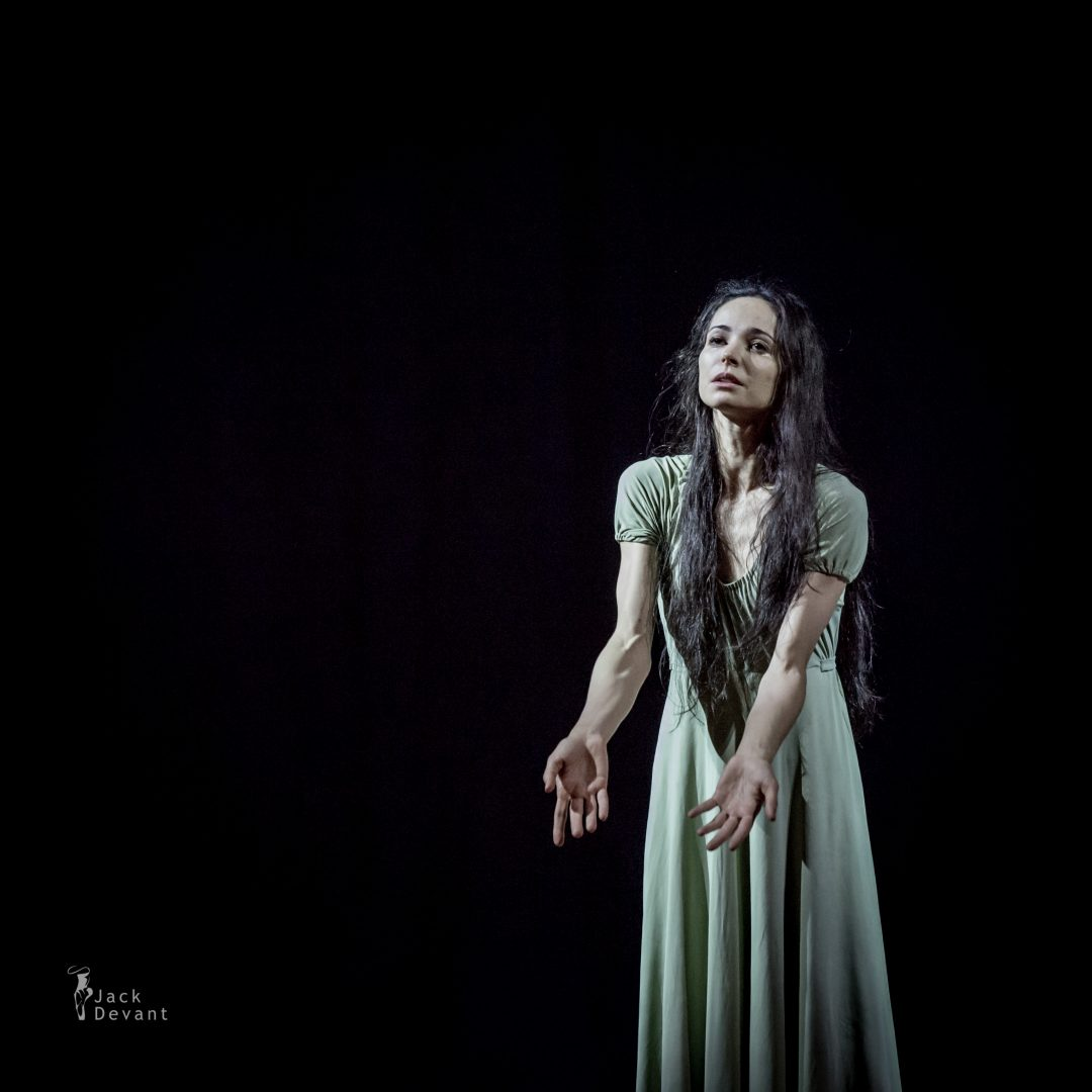 Diana Vishneva and Dmitry Sobolevsky in Tatiana Duel scene