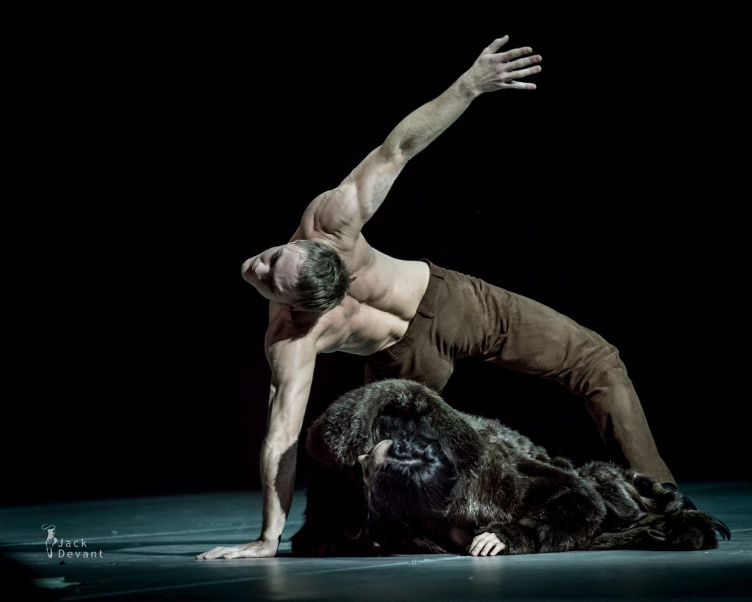 Diana Vishneva and the dream Bear in Tatiana