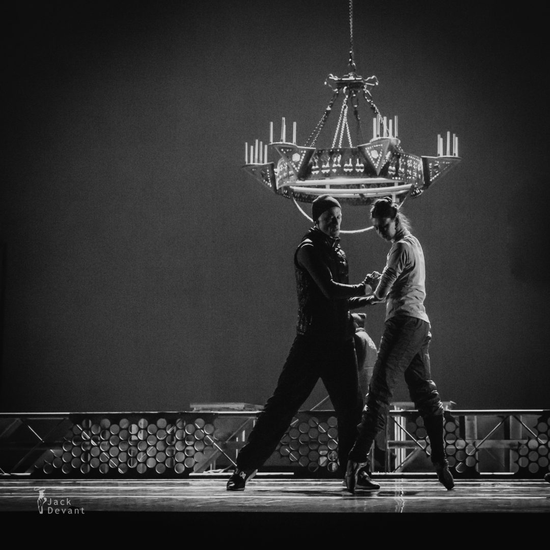 Anastasia Matvienko and Denis Matvienko rehearsing The Great Gatsby