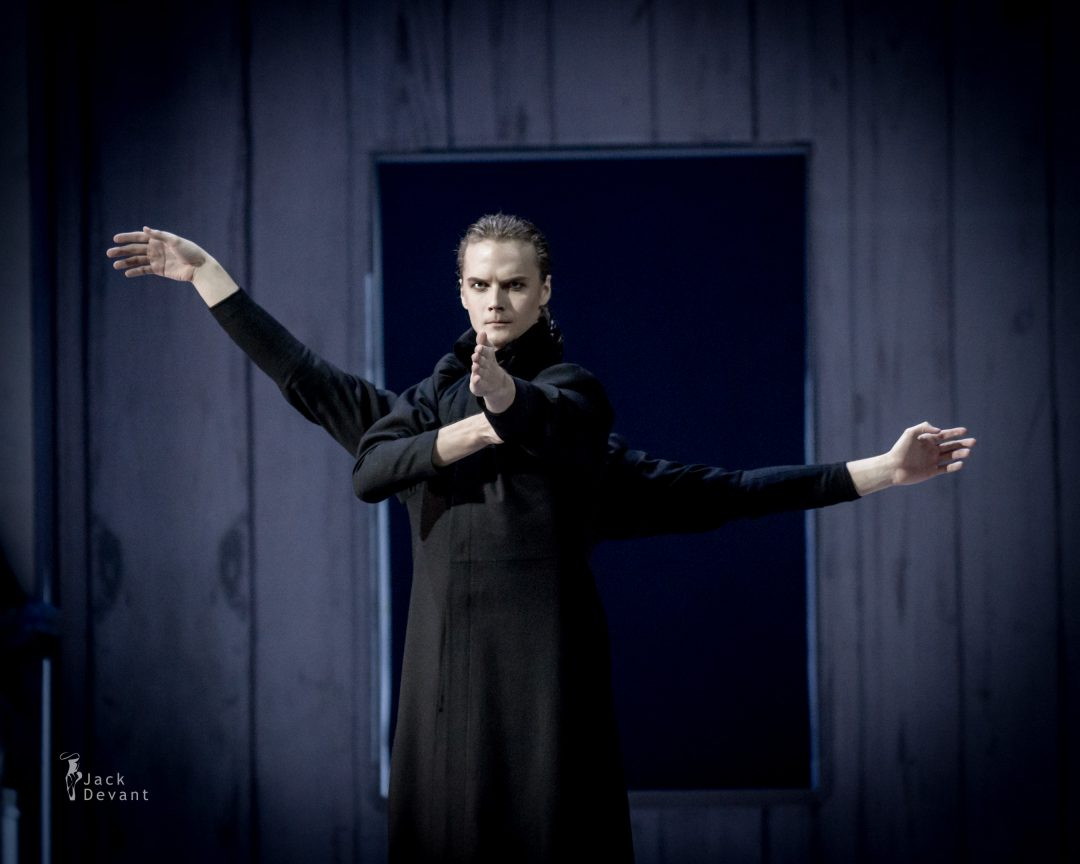 Denis Dmitriev and Artem Sorochan as Zaretsky in Tatiana