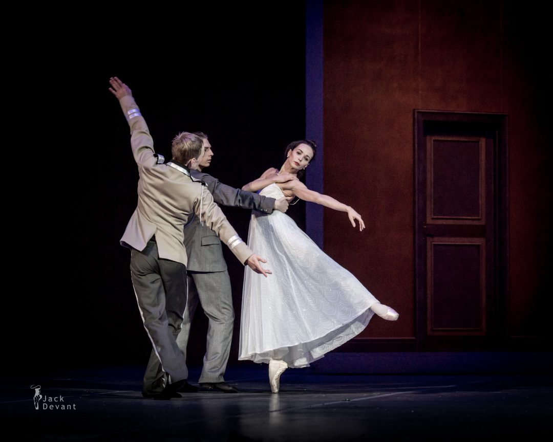 Diana Vishneva and Dmitry Sobolevsky in Tatiana act 2 Ball scene