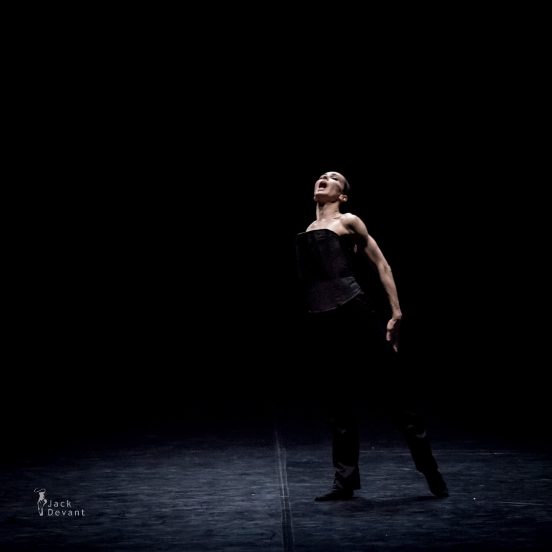 Diana Vishneva (Rus. Диана Вишнёва) in Tué, choreography by Marco Goecke