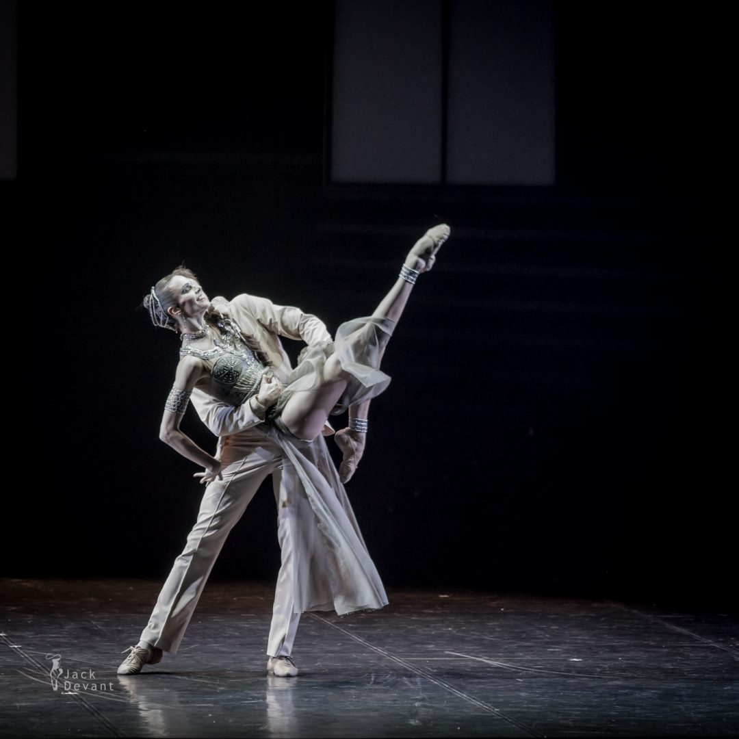 Maria Abashova and Oleg Gabyshev in Up and Down