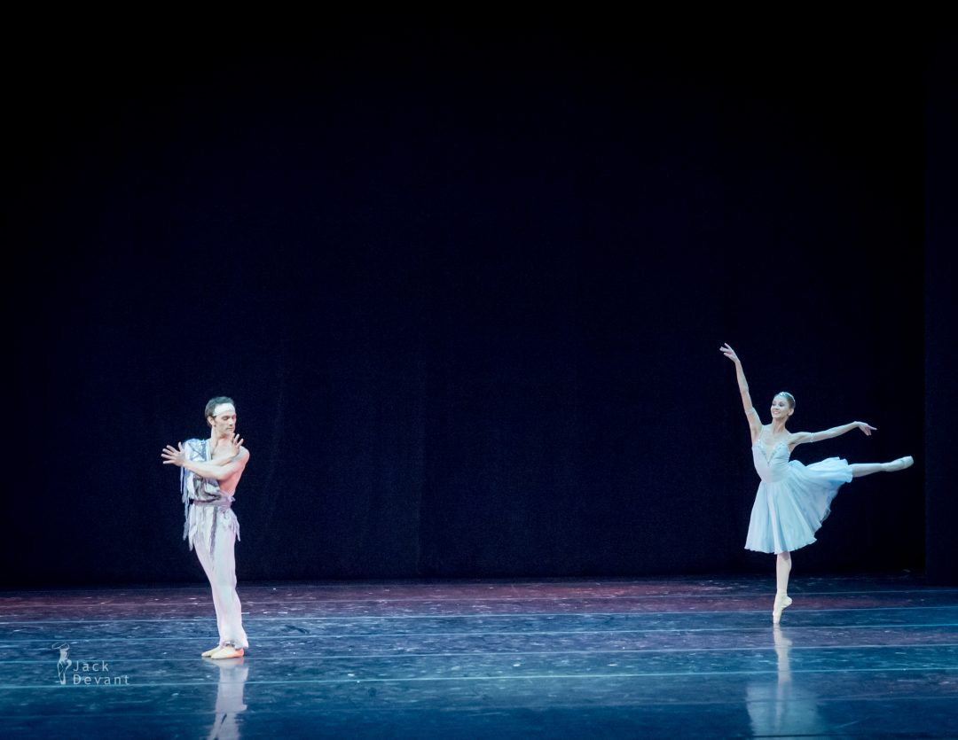 Anastasia Stashkevich and Vyacheslav Lopatin in The Talisman