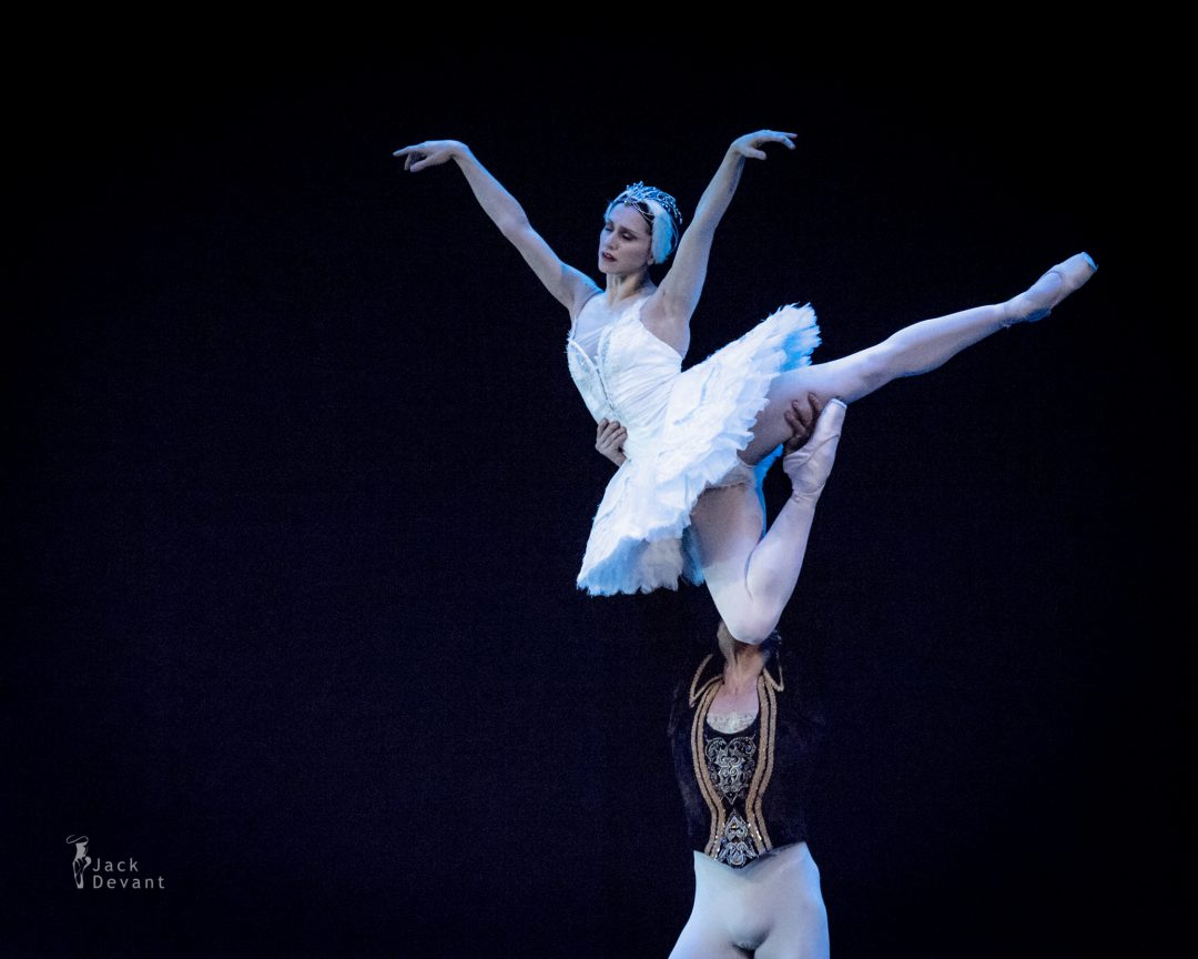 Marianela Nunez and Thiago Soares in Adagio from Swan Lake