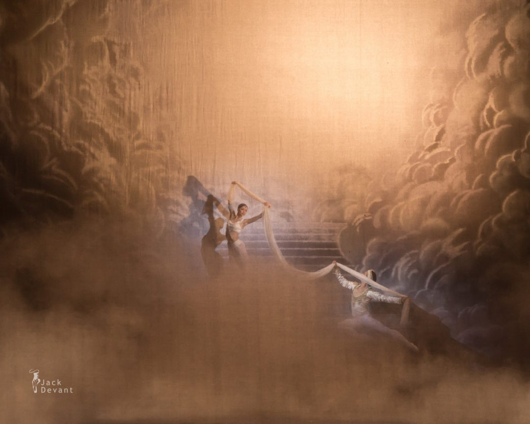 Sergei Polunin and Natalia Somova in La Bayadere final scene