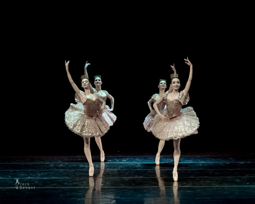 Pas de quatre from Don Quixote by Giorgia Calenda, Flavia Morgante, Susanna Salvi and Flavia Stocchi