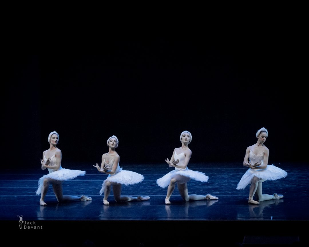 Les Etoiles Gala 2014 The Dance Of The Cygnets by Giorgia Calenda, Flavia Morgante, Susanna Salvi and Flavia Stocchi