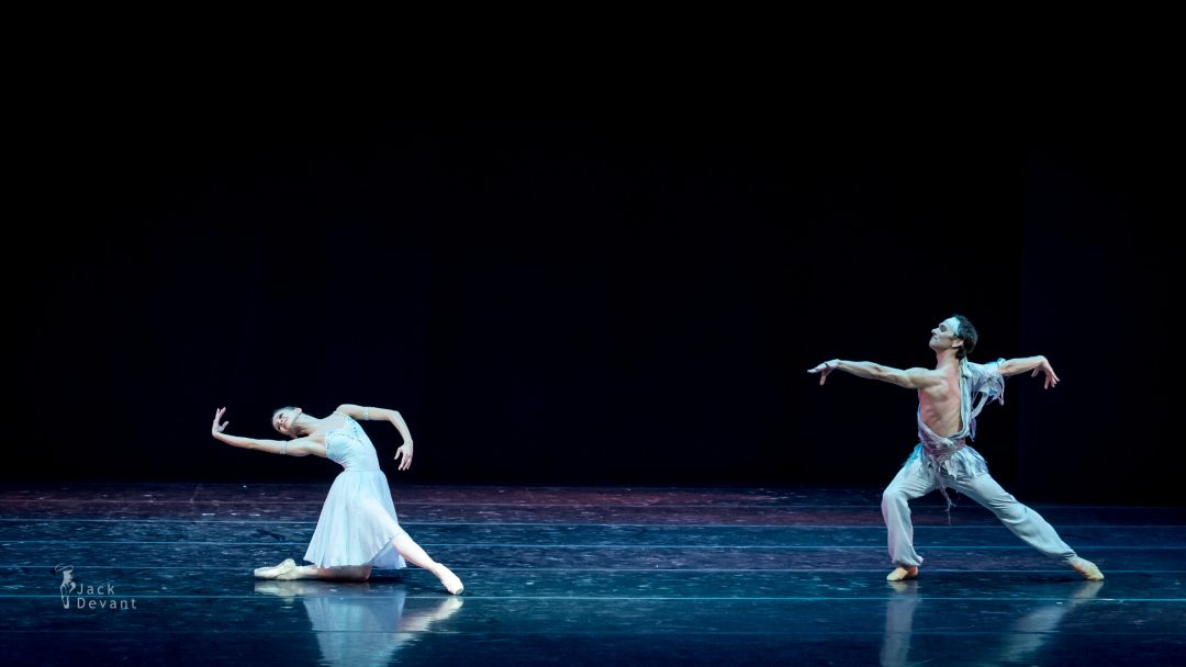 Anastasia Stashkevich and Vyacheslav Lopatin in The Talisman pas de deux