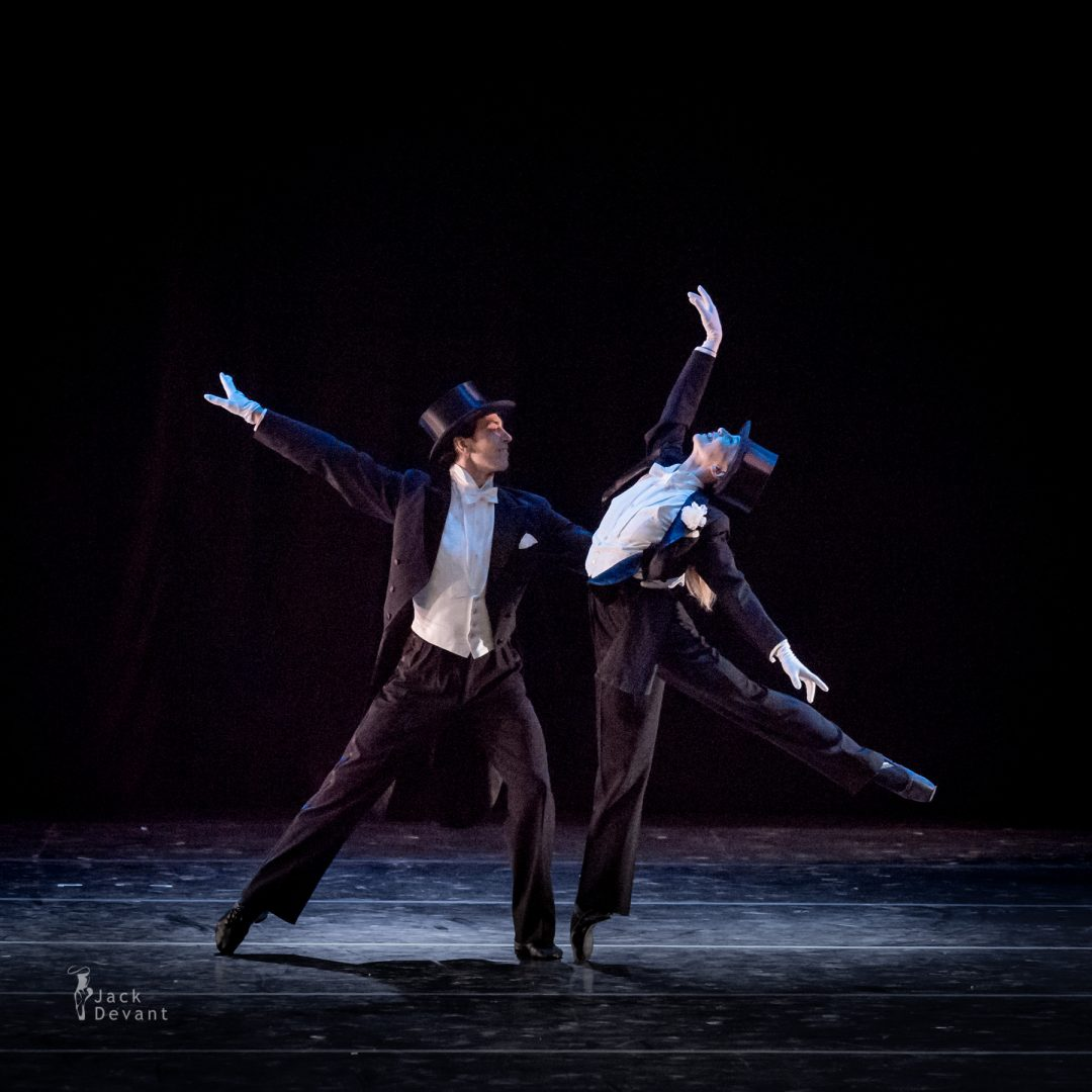 Silvia Azzoni and Oleksandr Ryabko in Shall We Dance Les Etoiles Gala 2014