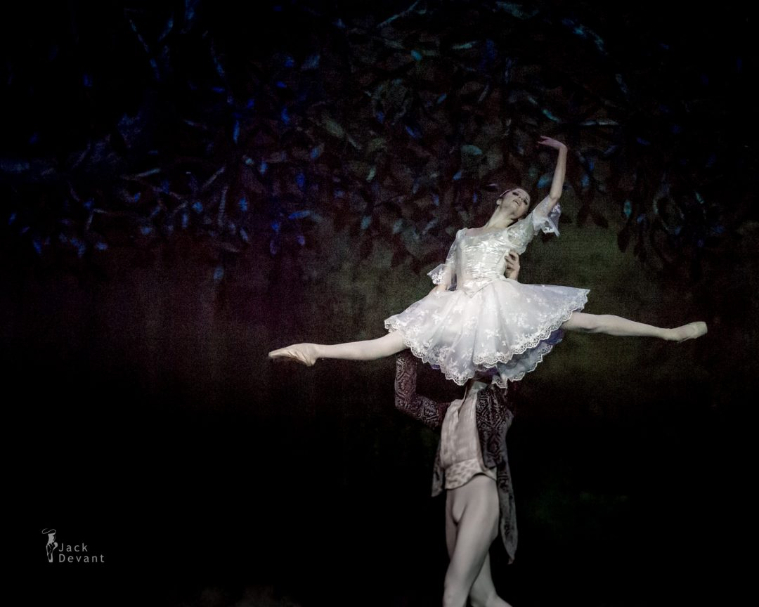 Alena Shkatula and Denis Klimuk in The Sleeping Beauty