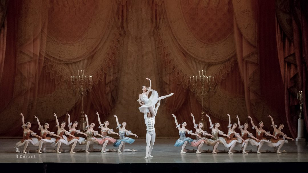 Viktoria Tereshkona and Vladimir Shklyarov in Paquita Grand Pas