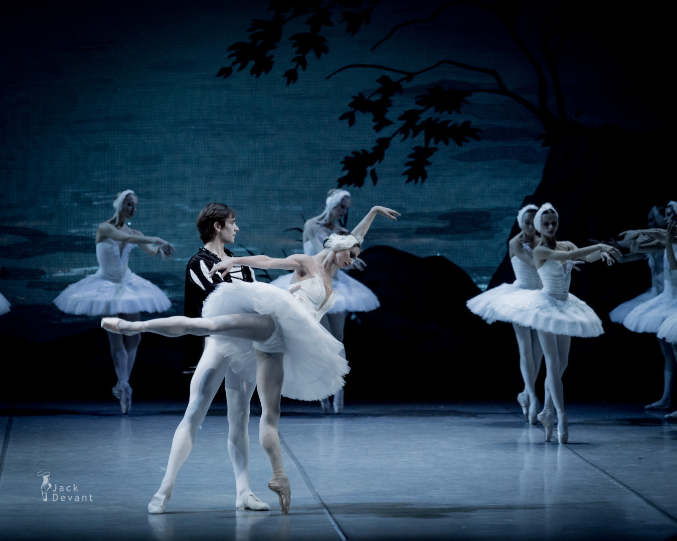 Polina Semionova and Friedemann Vogel in Swan Lake
