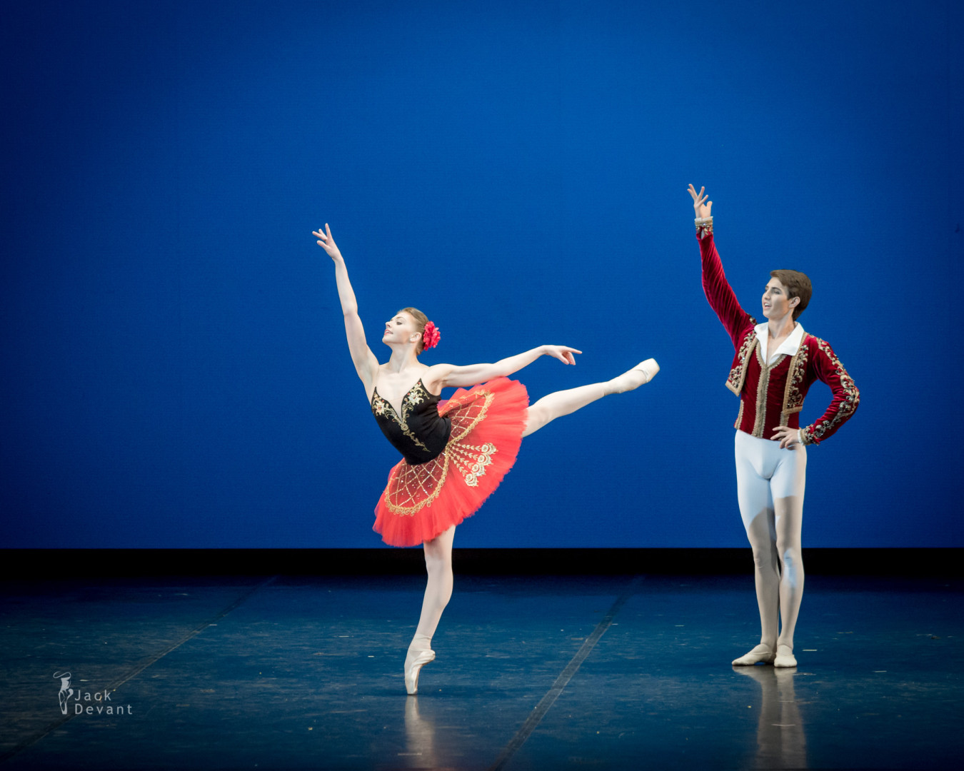 Oksana Bondareva and Ernest Latypov in Don Quixote PDD