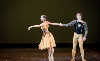 Oksana Kardash and Sergey Manuylov in La Esmeralda