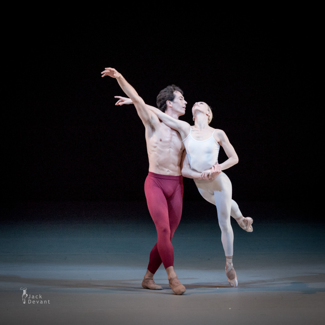 Silvia Azzoni and Alexandre Riabko in Desire