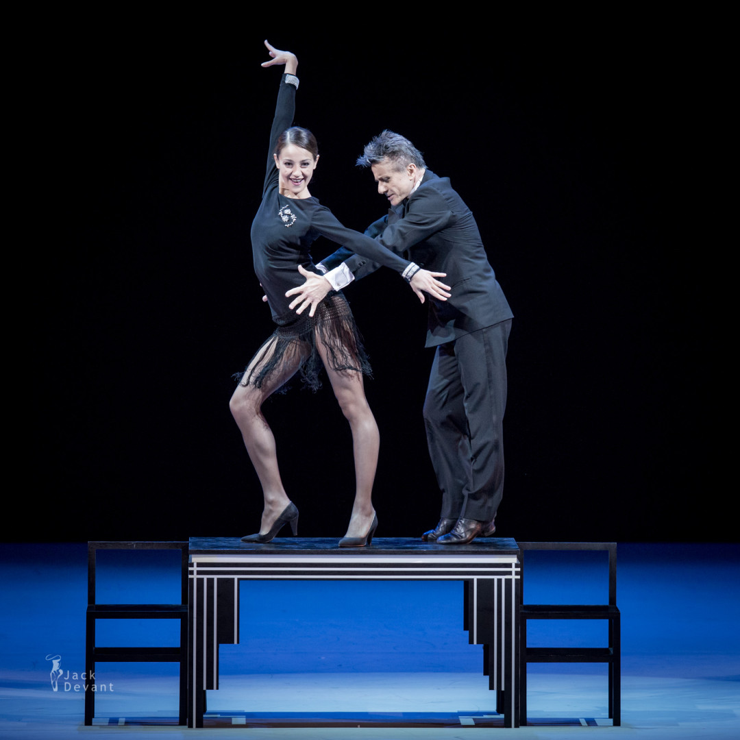 Nicoletta Manni and Luigi Bonino in Cheek to Cheek