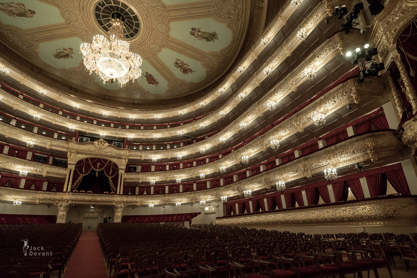 Bolshoi Theatre in Moscow