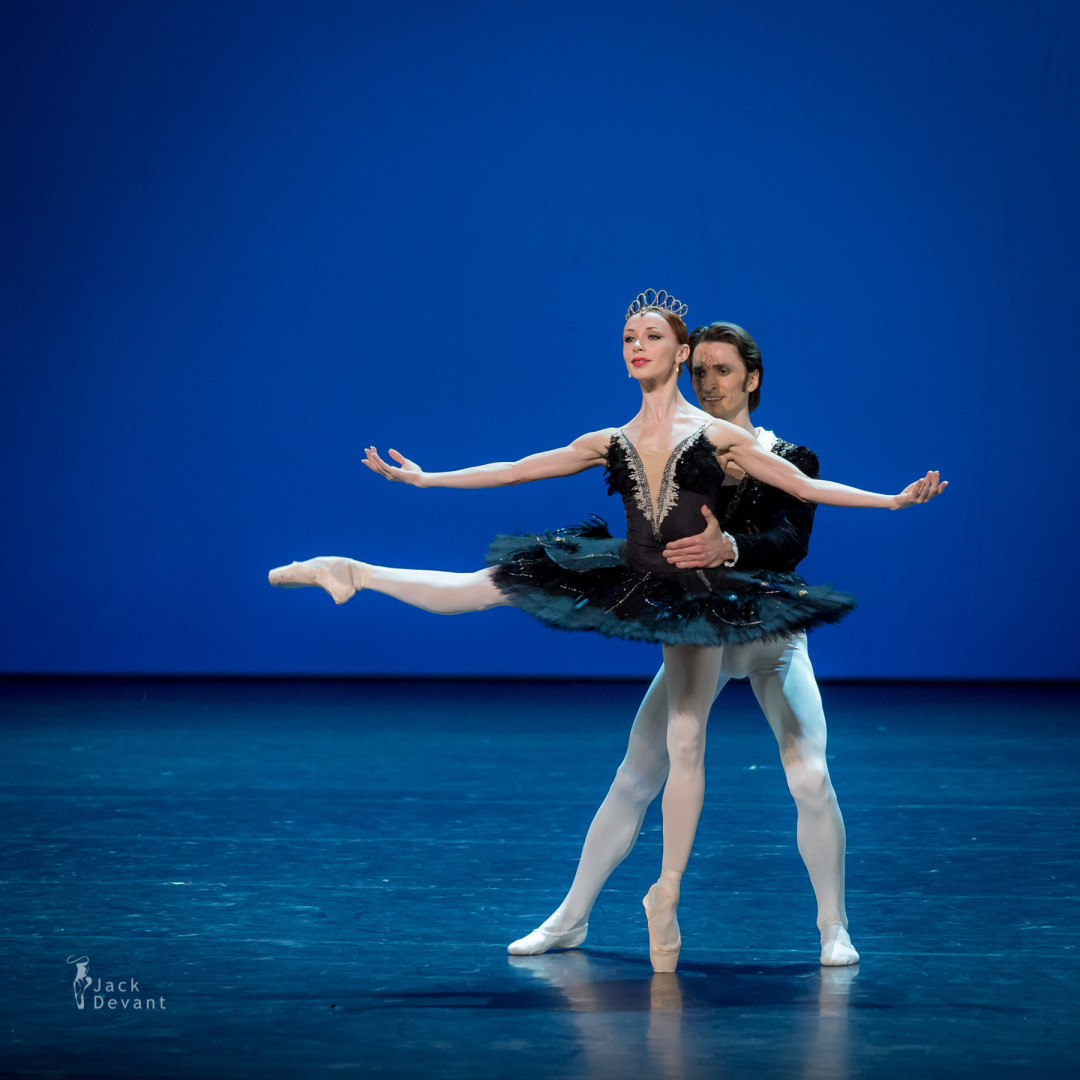 Iana Salenko and Dinu Tamazlacaru in Swan Lake pdd