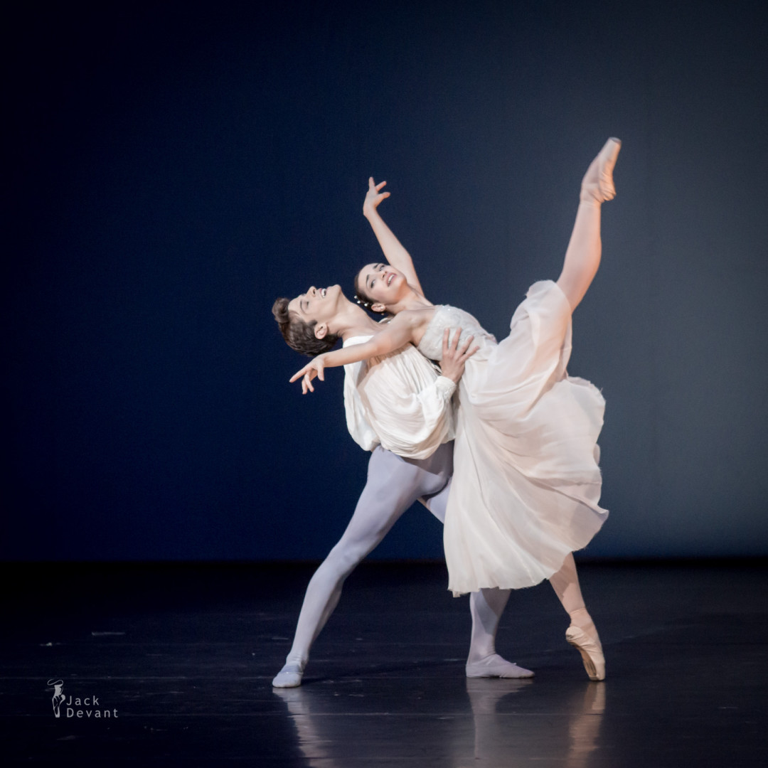 Lucymay Di Stefano and Claudio Coviello in Romeo and Juliet