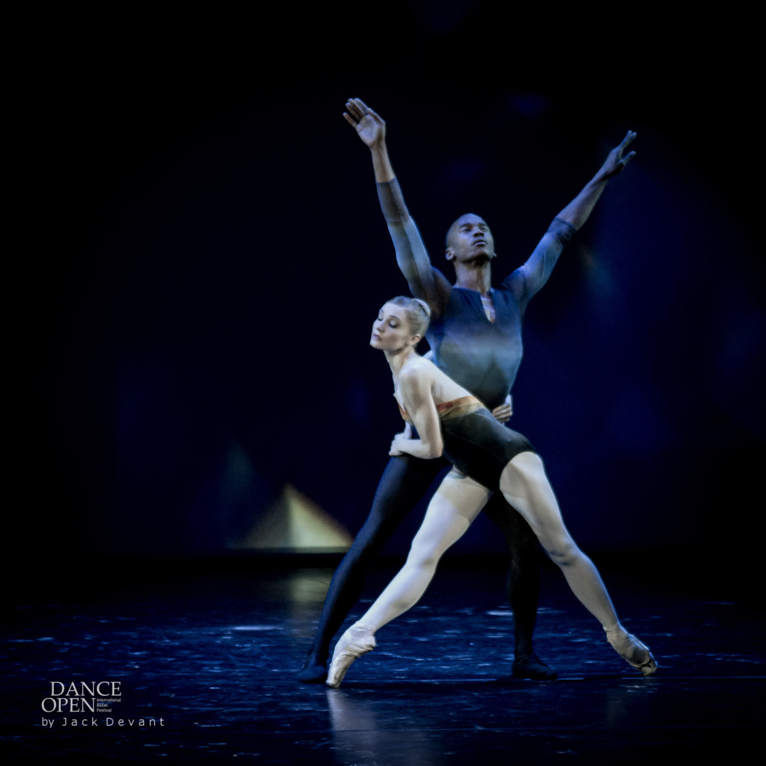 Melissa Hamilton and Eric Underwood in Tryst Pas de Deux