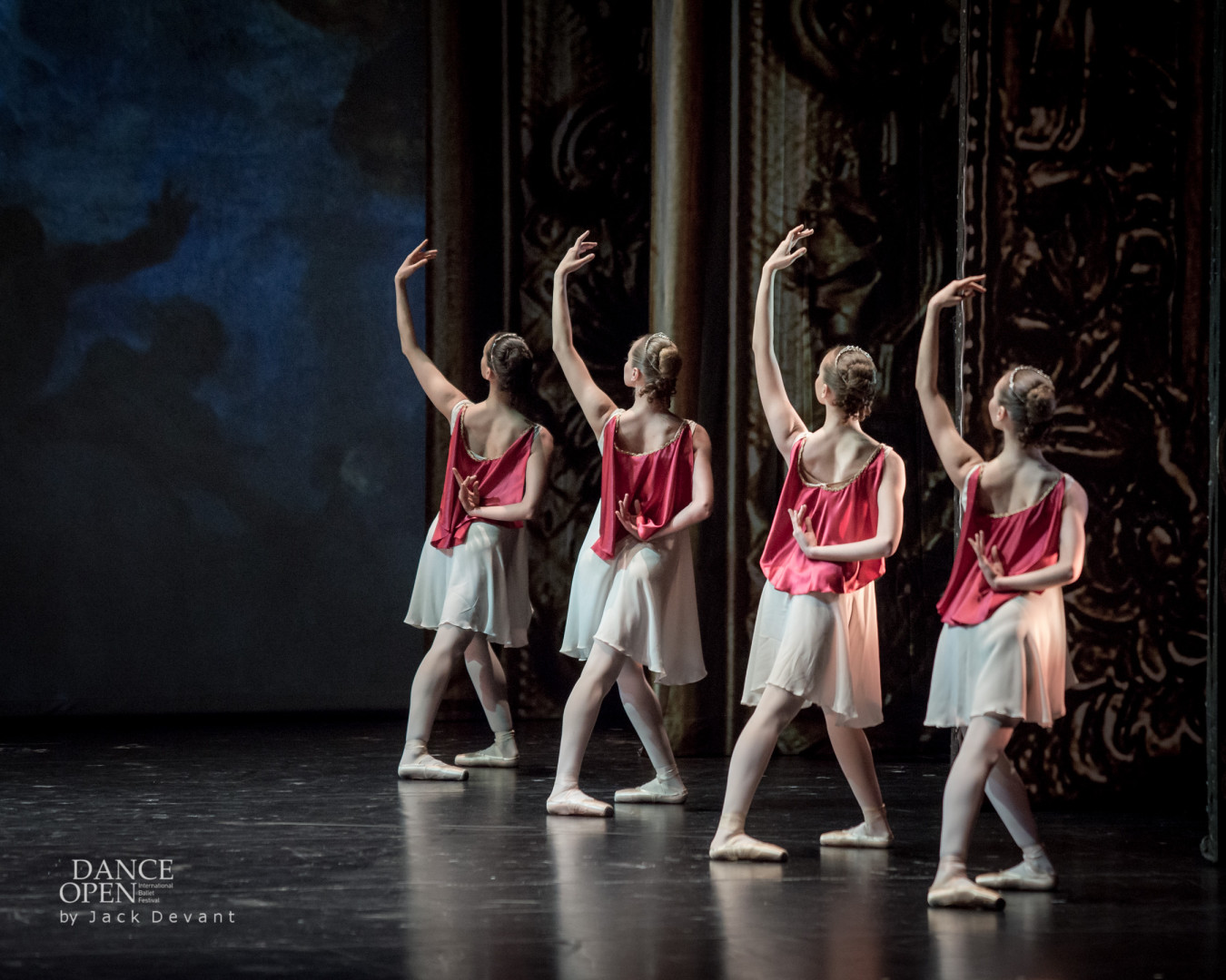 corps of the Yakobson Ballet in Diana and Acteon