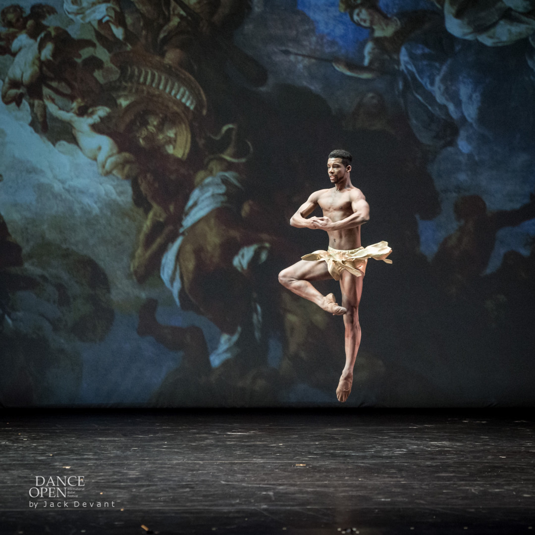 Osiel Gouneo in Diana and Acteon