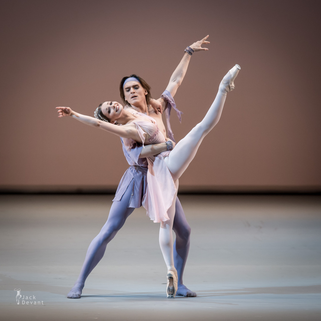 Benois de la Dance 2015 Gala Evgenia Obraztsova and Denis Rodkin in The Talisman
