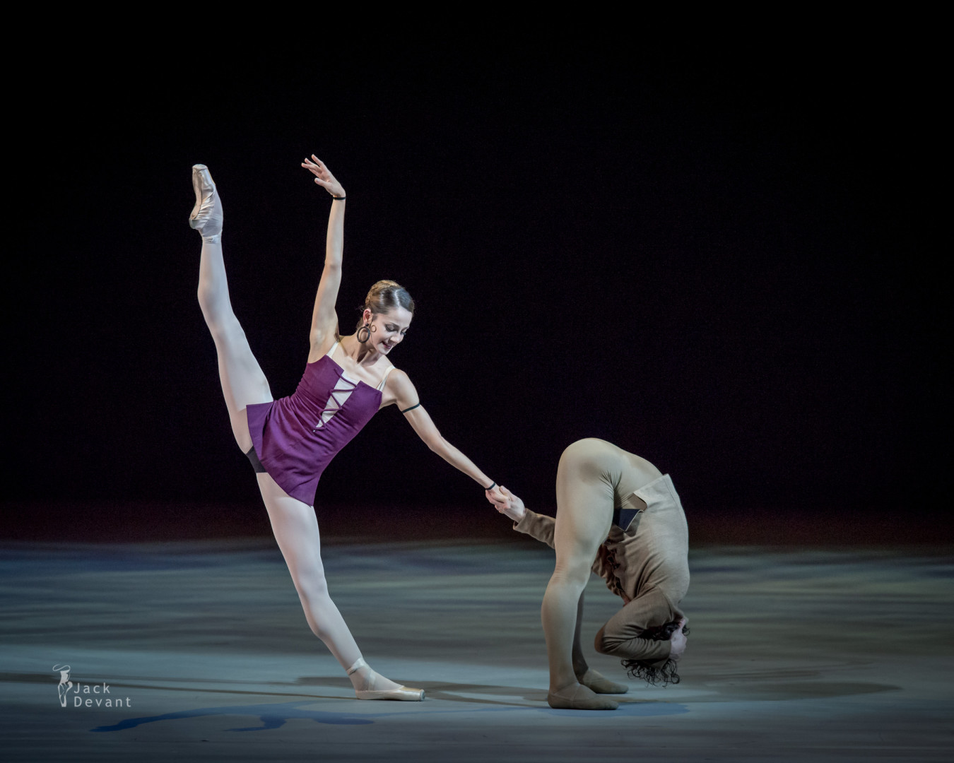 Nicoletta Manni and Ivan Vasiliev in Notre-Dame de Paris
