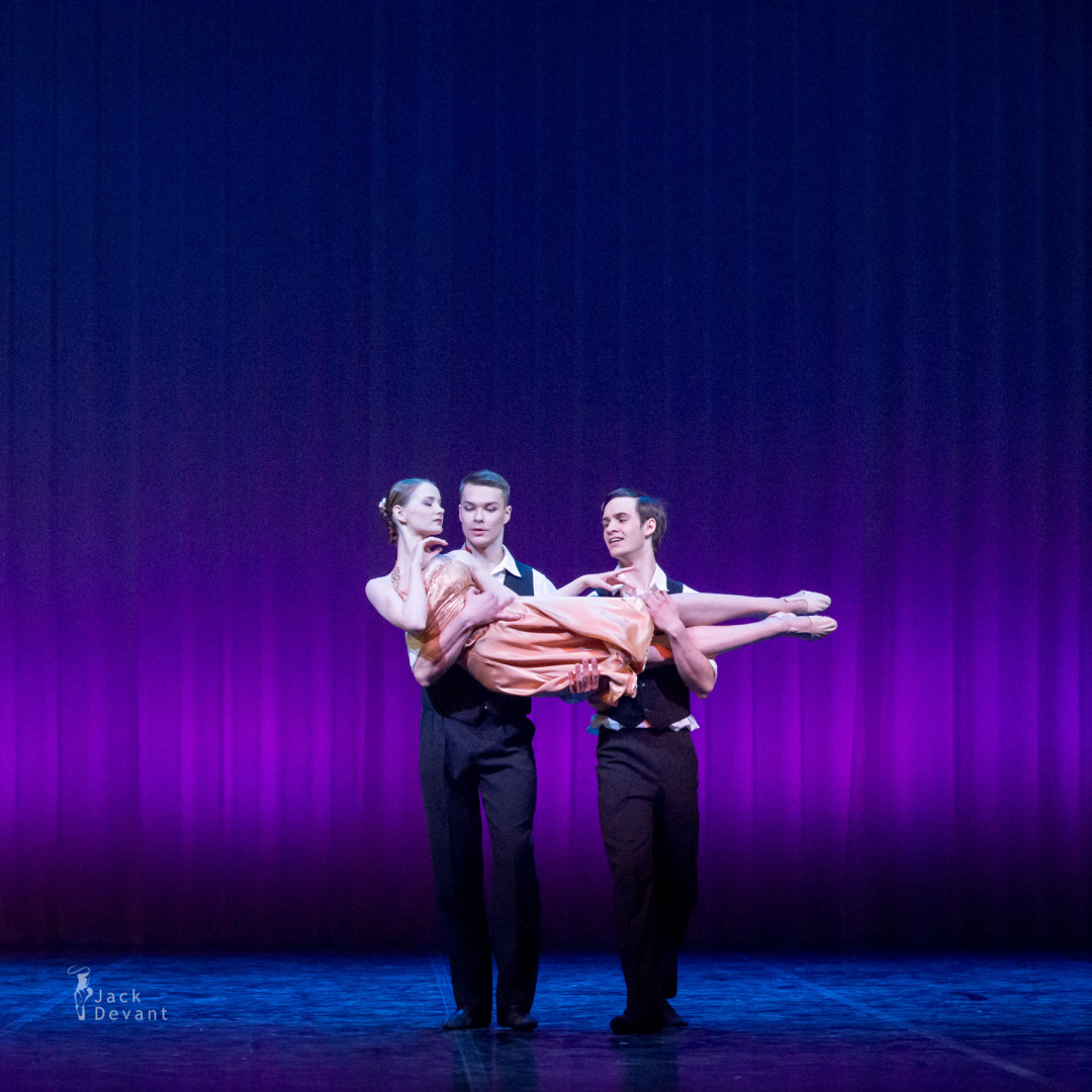 Anna Roberta Lahesoo, Ragnar Soonik and Pavel Vjunenko in Only You