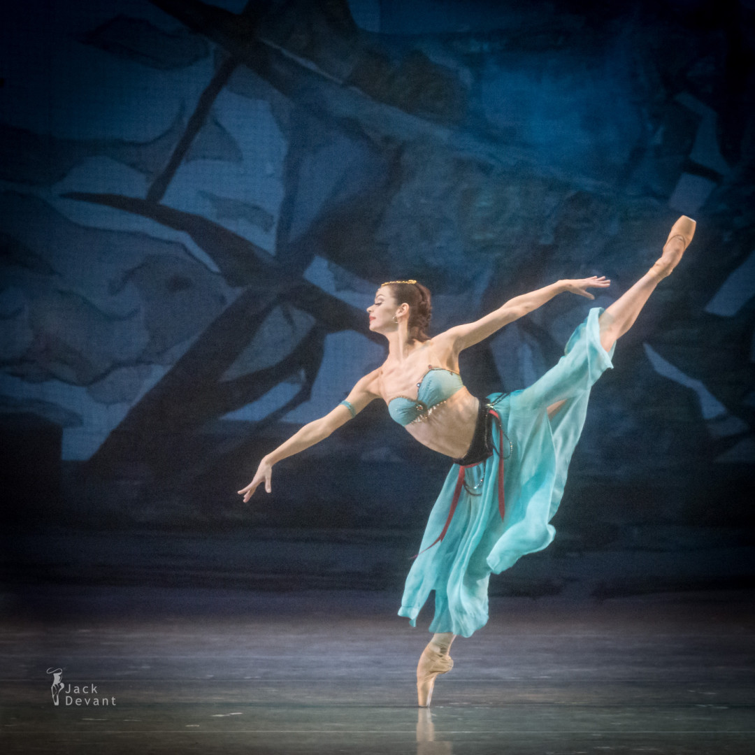 Anastasia Kolegova in Le Corsaire Sea Shore