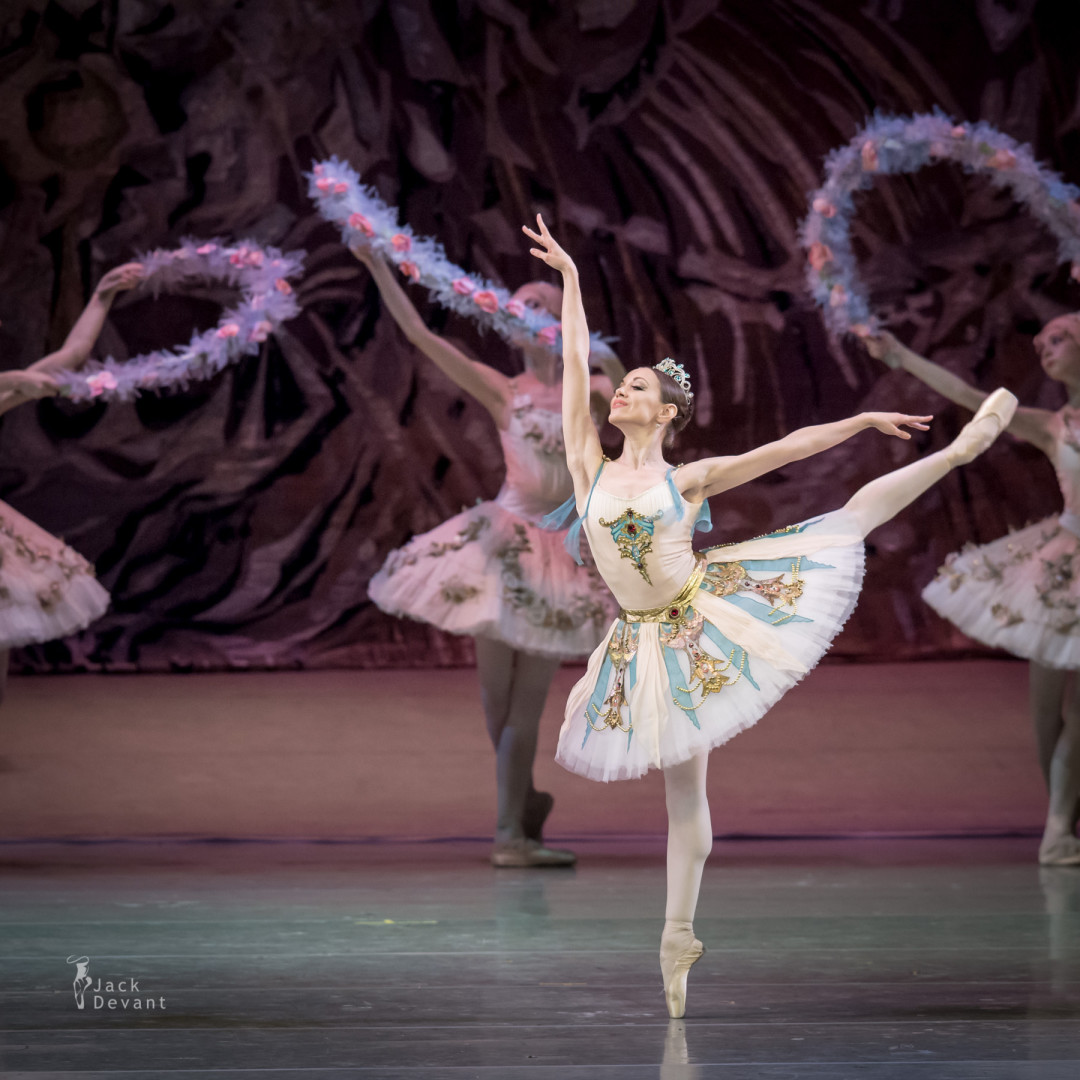 Valeria Martynyuk (Rus. Валерия Мартынюк) as Gulnare in Le Corsaire