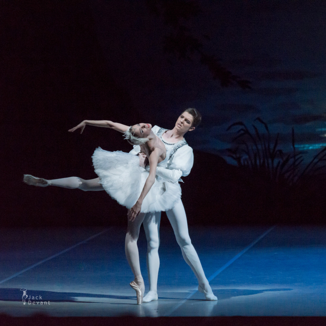 Ekaterina Borchenko and Victor Lebedev in Swan Lake