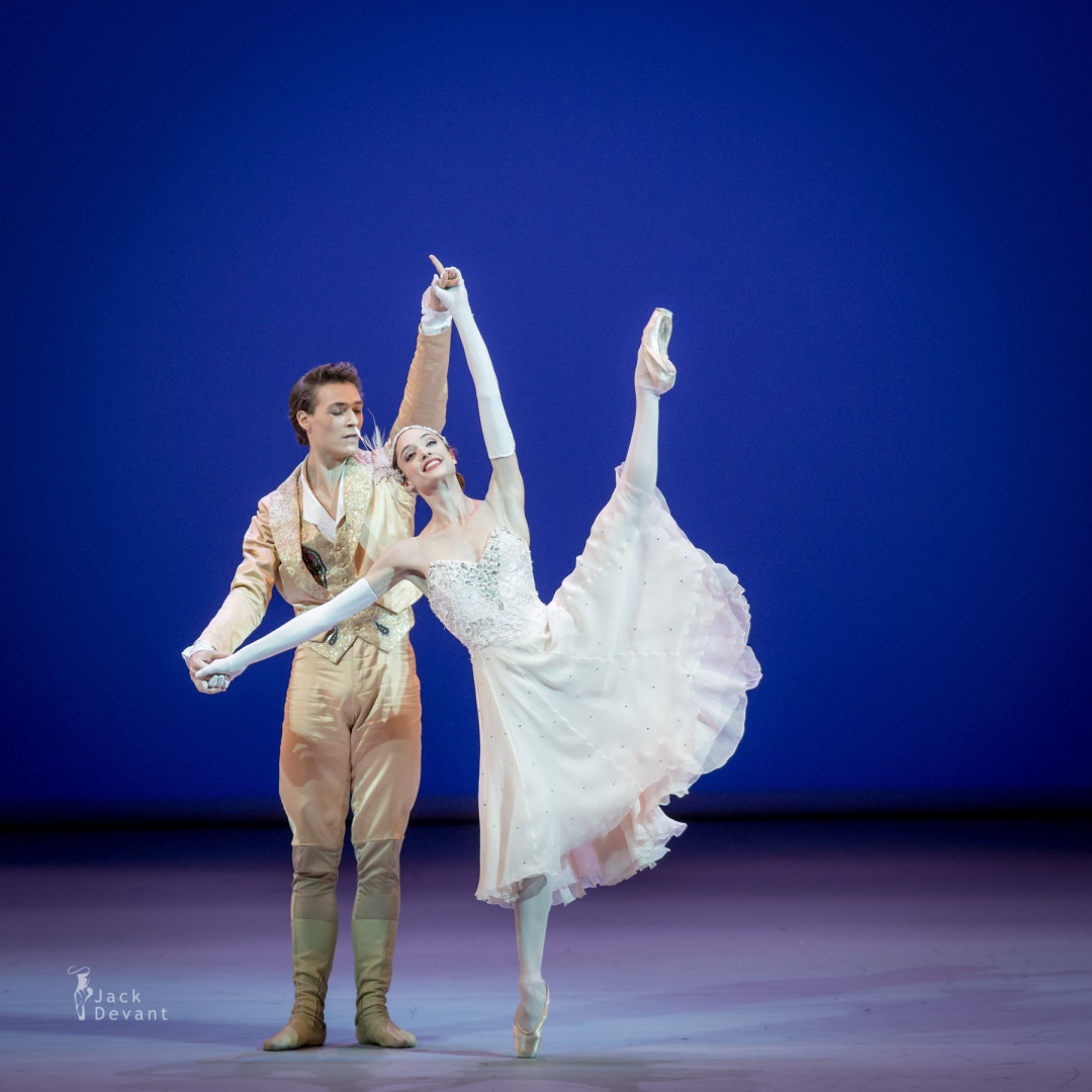 Dorothée Gilbert and Hugo Marchand in Cinderella