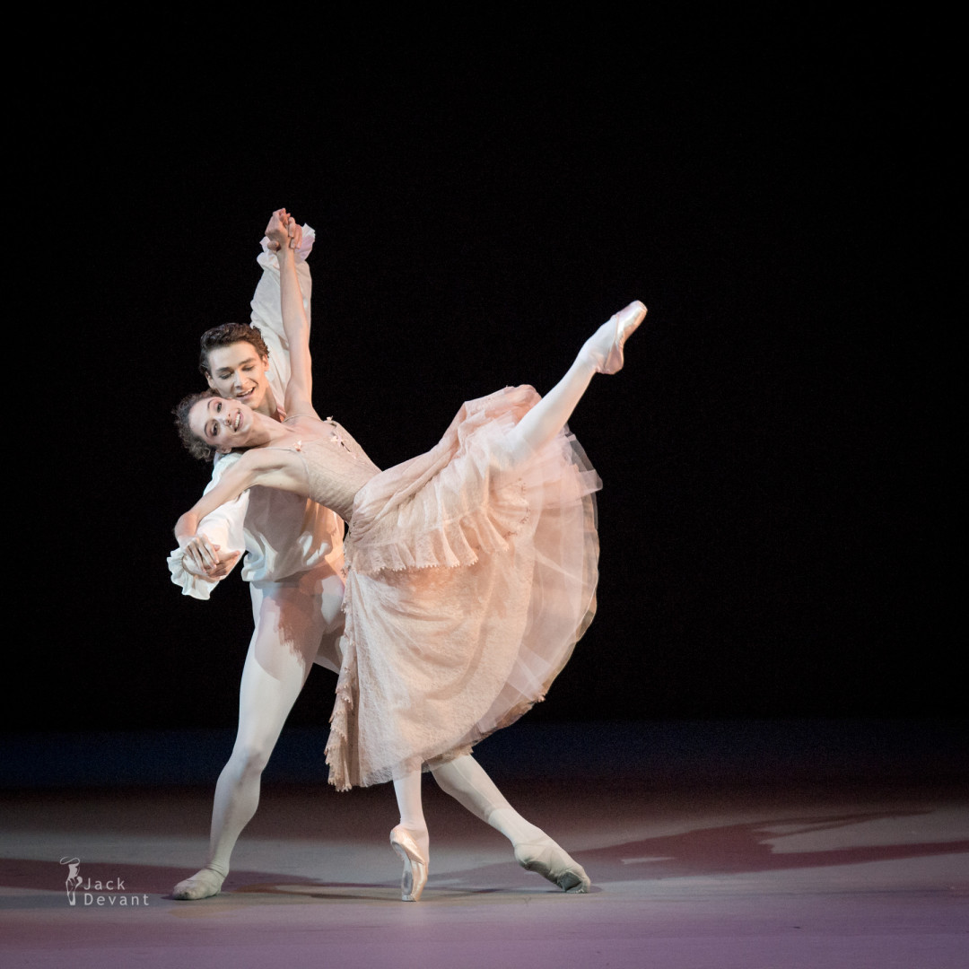 Dorothée Gilbert and Hugo Marchand in Manon duet