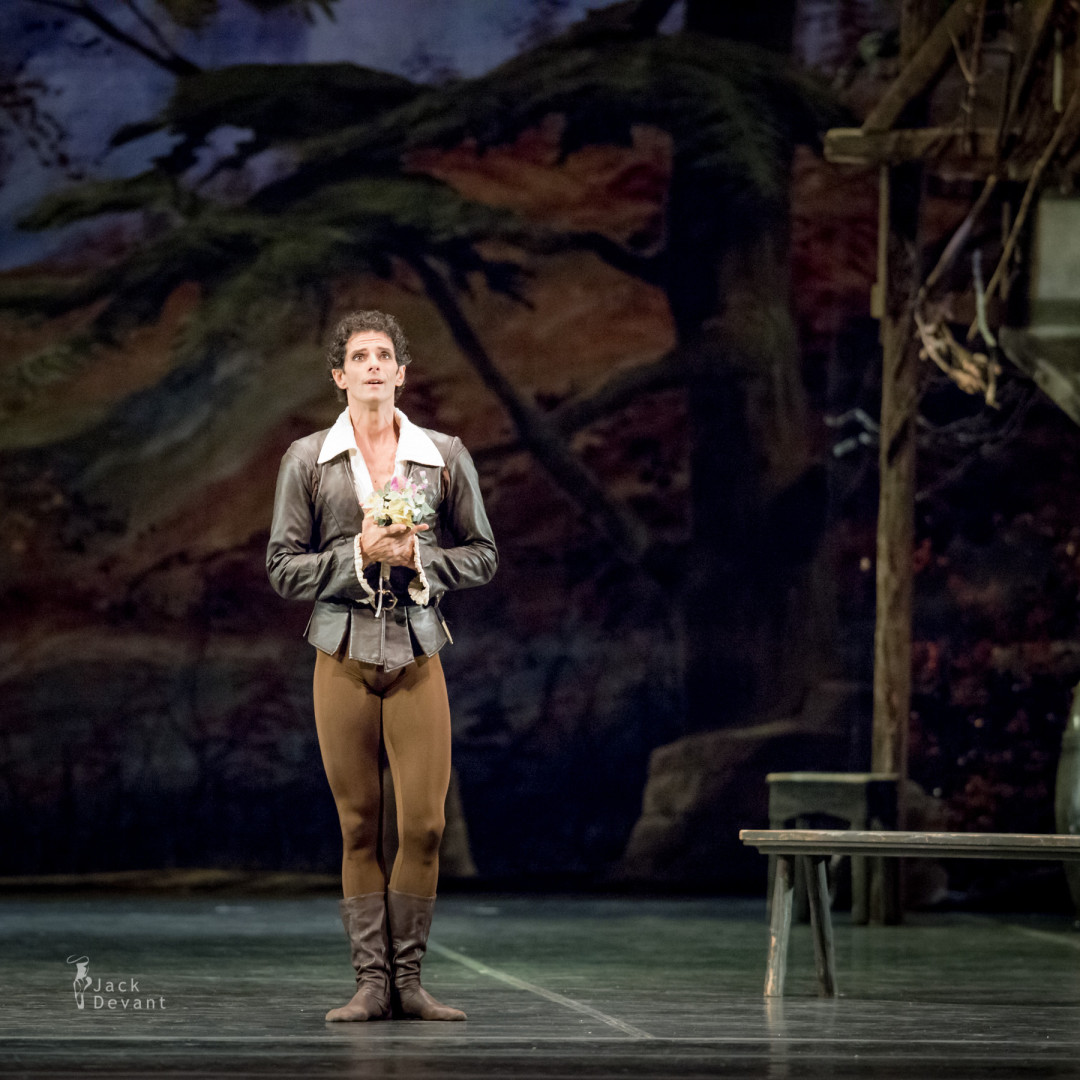Edmondo Tucci as Hilarion in Giselle