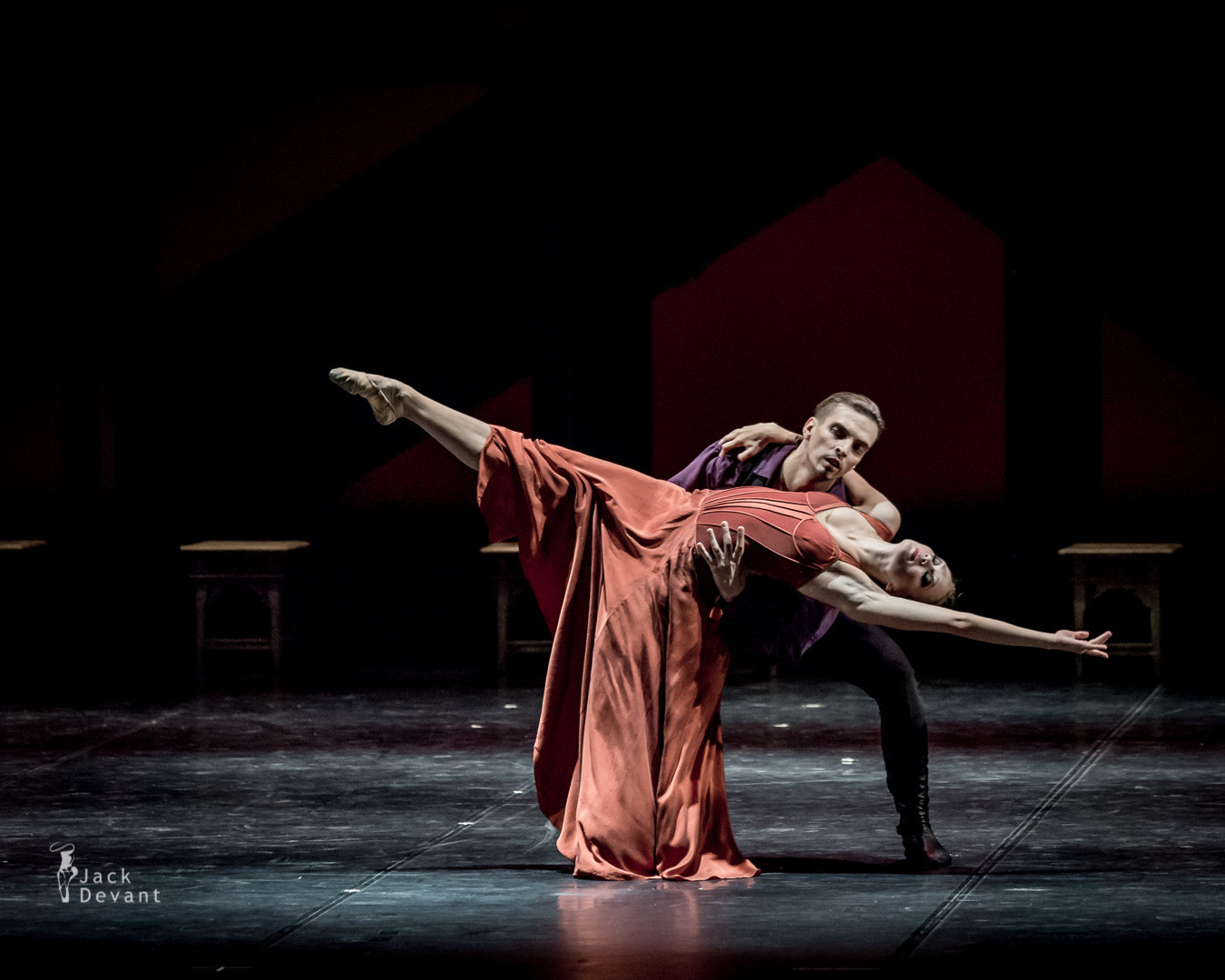 Alina Bakalova and Anton Labunskas in Rodin