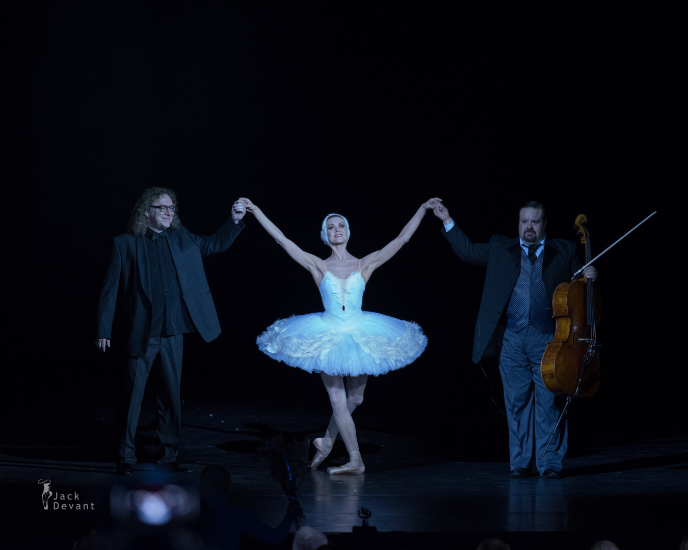 Ulyana Lopatkina in The Swan