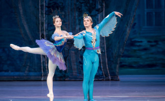 Andrey Pisarev as Blue Bird and Zhannna Gubanova as Princess Florina