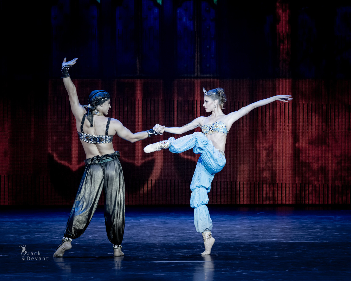 Maria Vinogradova and Ivan Vasiliev in Scheherazade