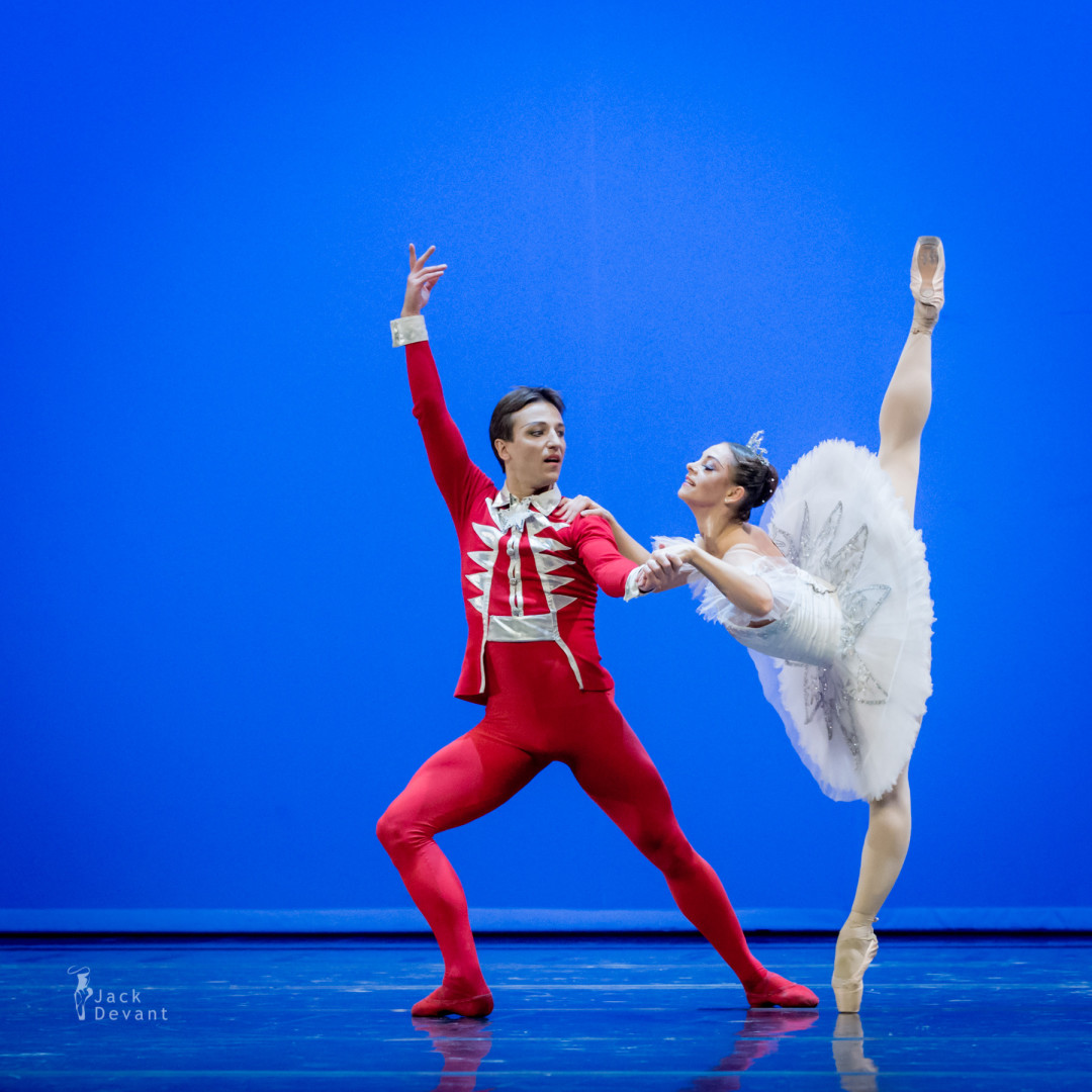 Alexei Terentiev and Cristina Terentiev in The Nutcracker