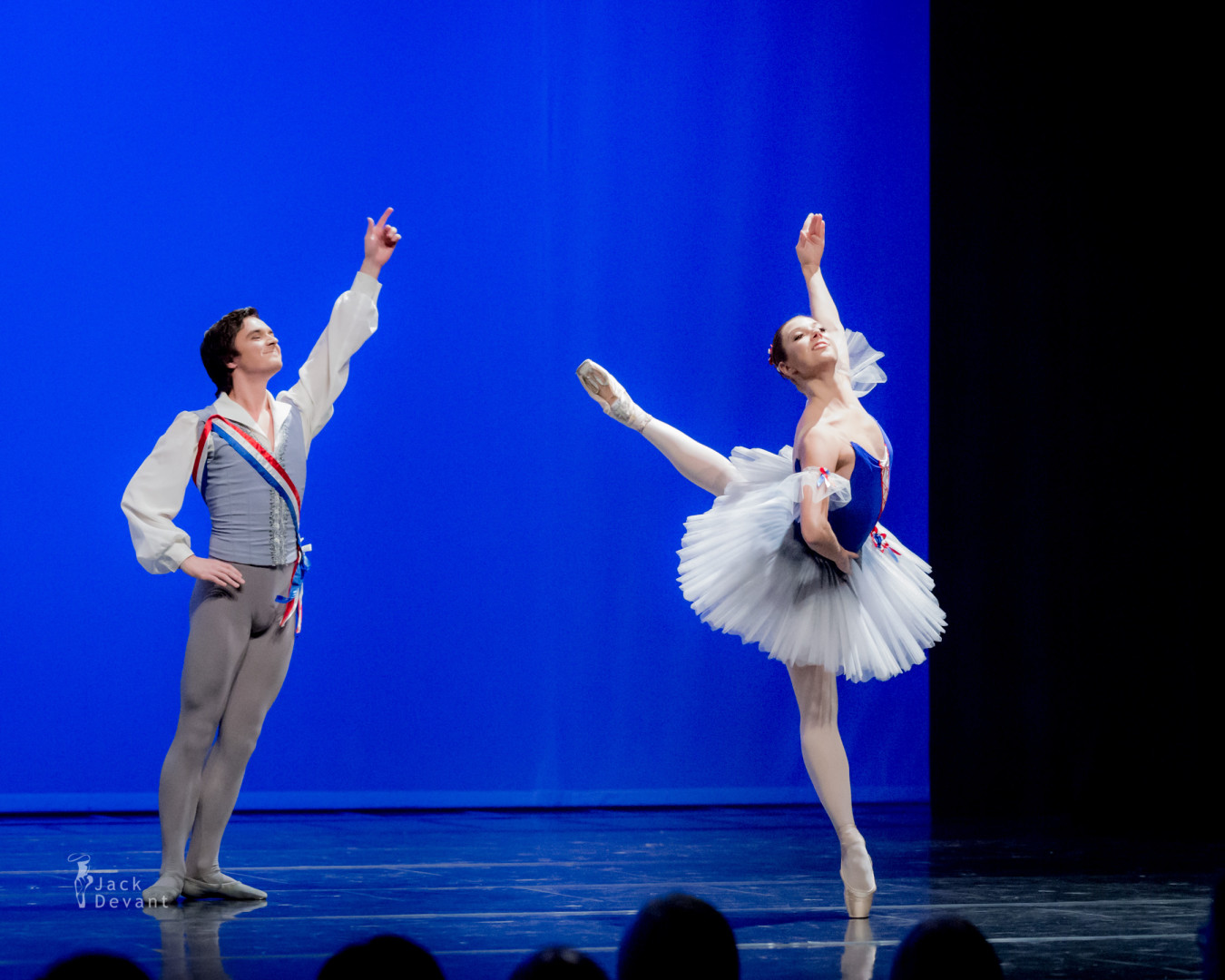 Andrey Pisarev and Maria Mishina in Flammes de Paris