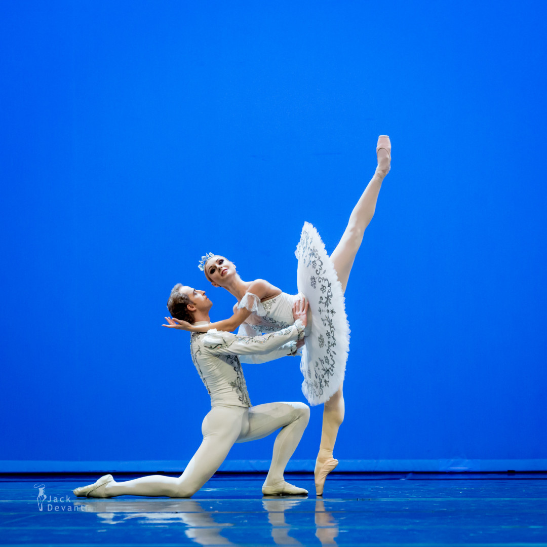 Sergey Sidorsky and Olga Golitsa in The Sleeping Beauty pdd