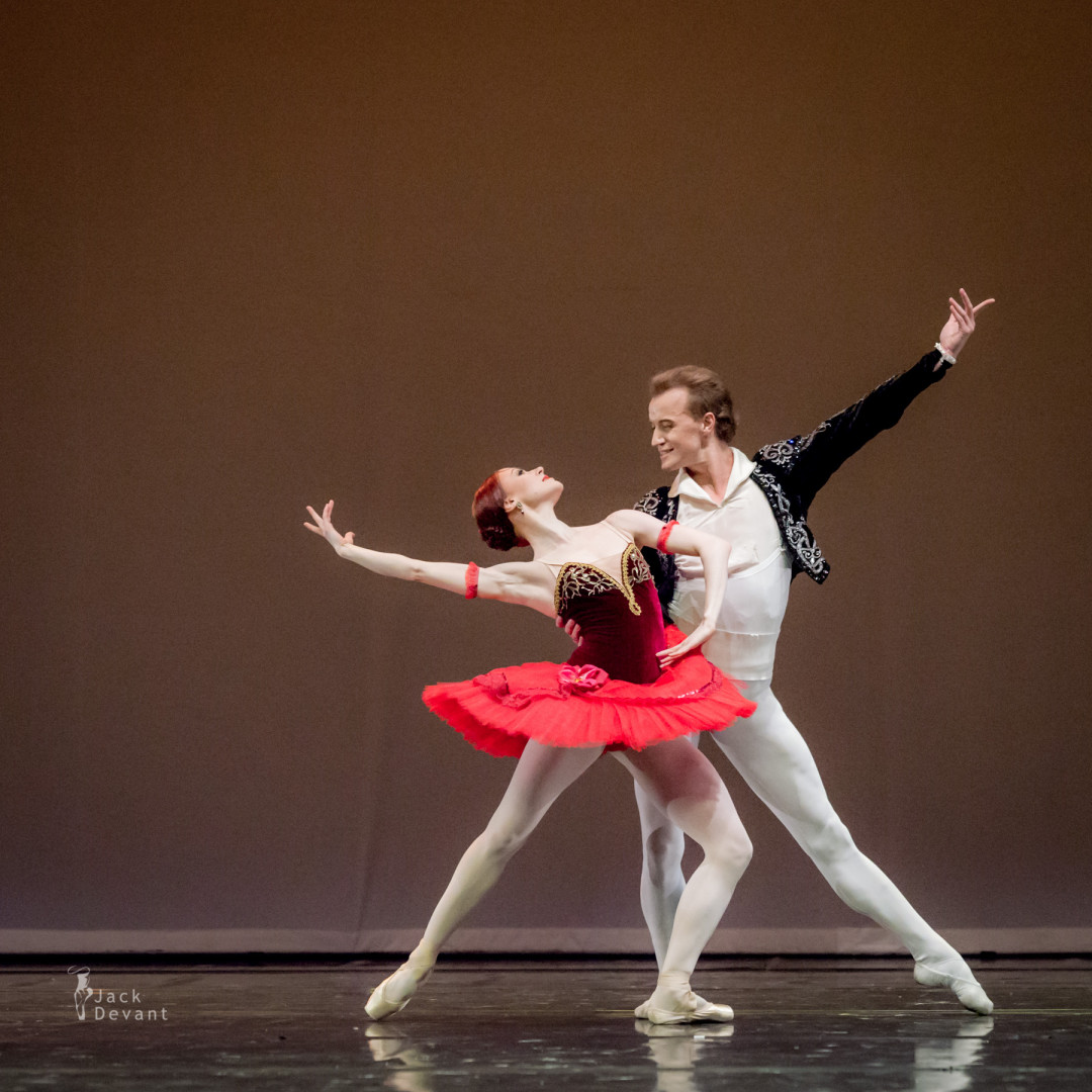 Royal Ballet Gala Denis Matvienko and Elena Evseeva in Don Quixote