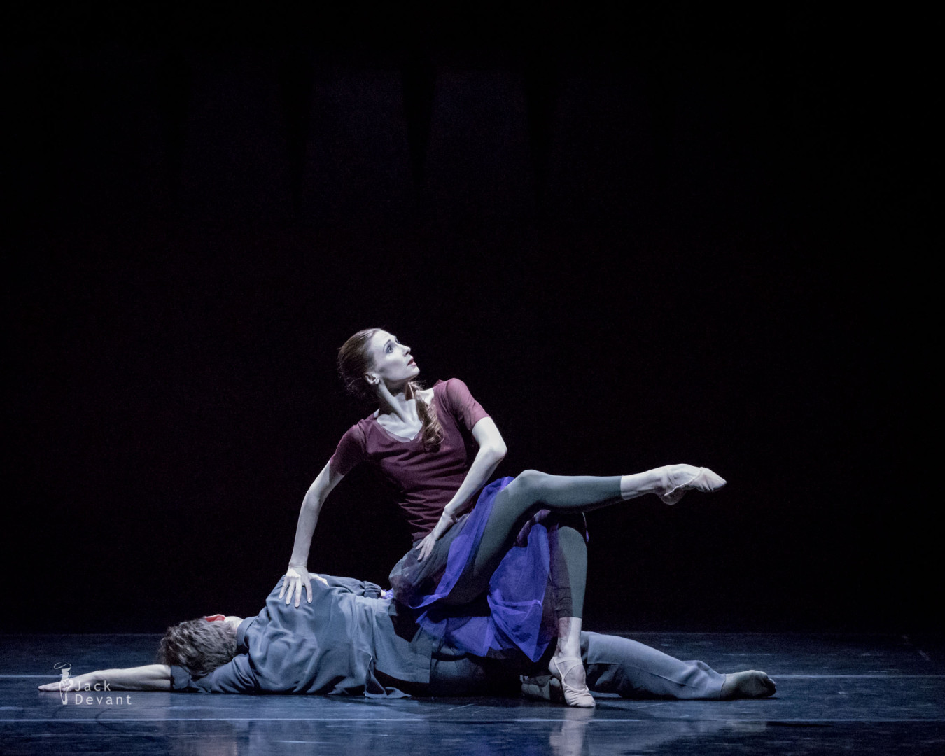 Svetlana Zakharova and Vladimir Varnava in Plus Minus Zero