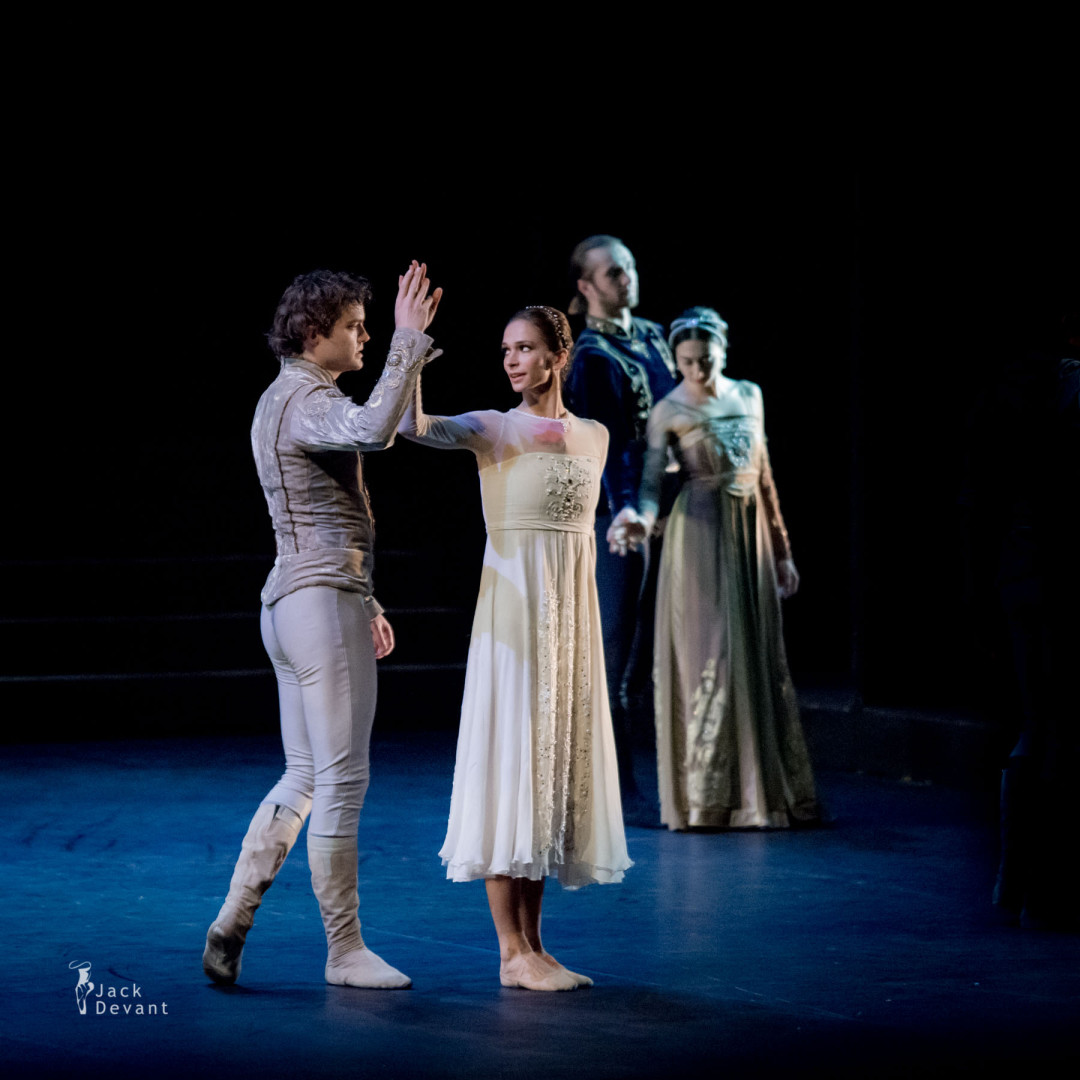 Romeo and Juliet 4.12.2015 in Mikhailovsky - Polina Semionova and Ivan Zaytsev
