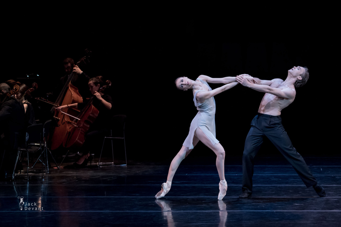 Svetlana Zakharova and Mikhail Lobukhin in Distant Cries