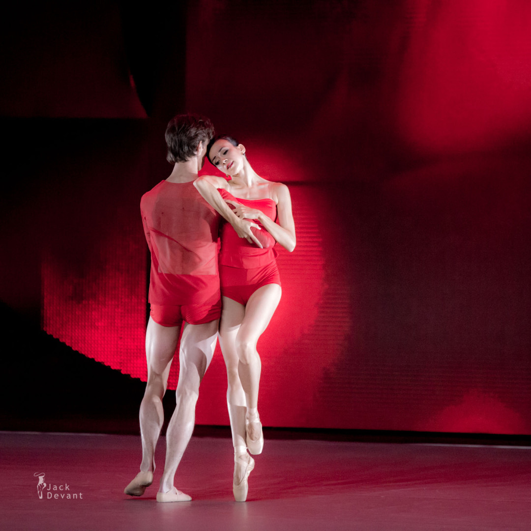 Ekaterina Bulgutova and Yury Kudryavtsev in the duet from Othello