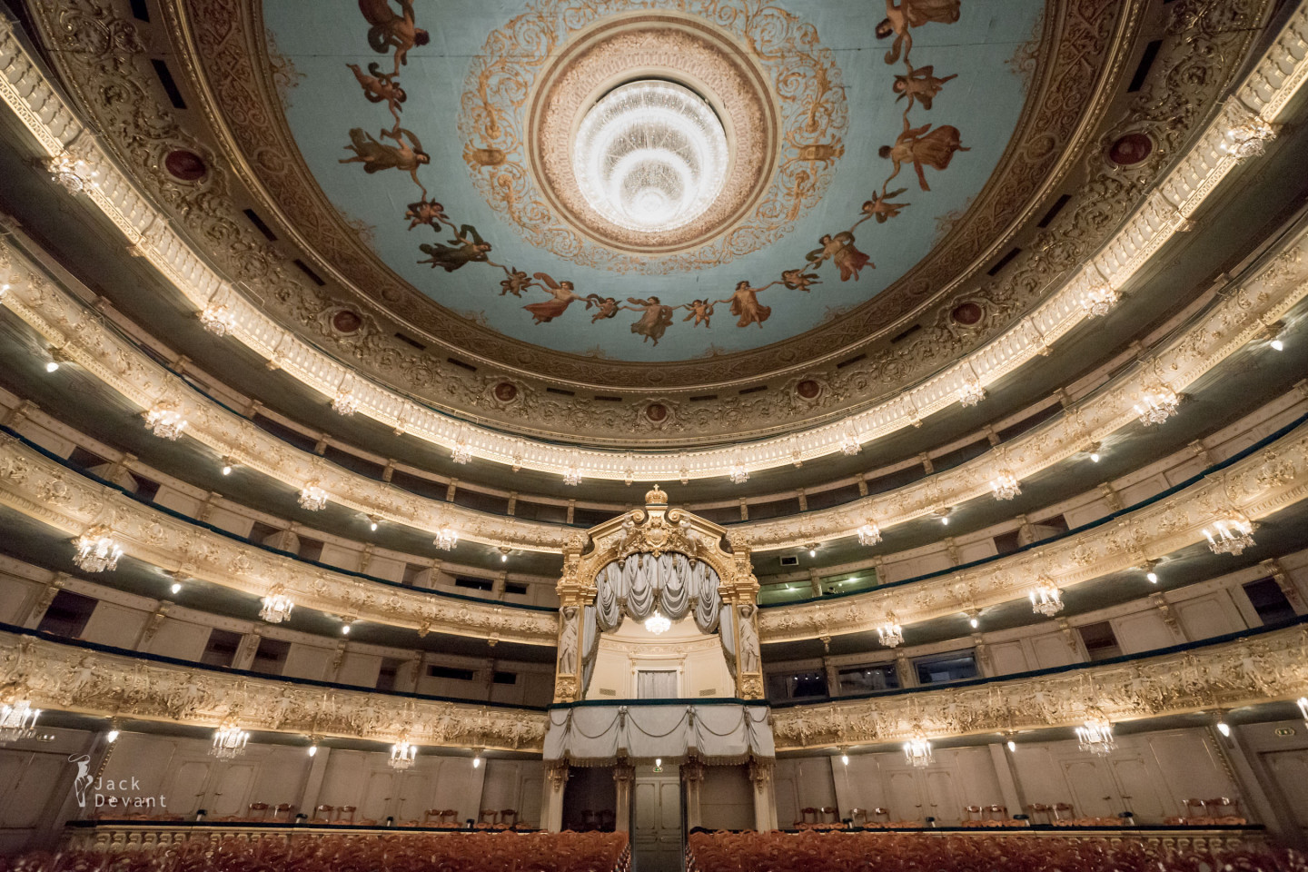 Mariinsky Theatre from the orchestra pit